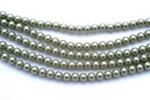 3mm Crystal Light Green Pearl (001 293) 30 Stück
