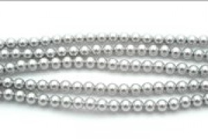 3mm Crystal Light Grey Pearl (001 616) 30 Stück
