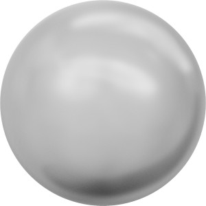 6 mm Crystal Light Grey Pearl (001 616) 20 Stück