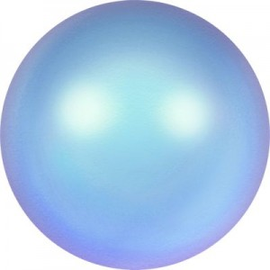 8 mm Crystal Iridescent Light Blue Pearl (001 948) 15 Stück
