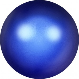 6 mm Crystal Iridescent Dark Blue Pearl (001 298) 20 Stück