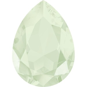 4327 Pear 30 x 20 mm Crystal Powder Green (001 PGRE) 1 Stück